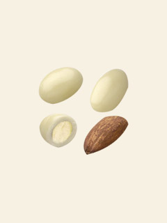 White Chocolate Almonds 3kg