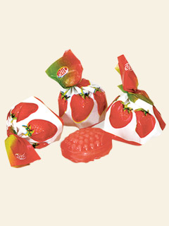 Fruit Filled Strawberry Candy 1kg